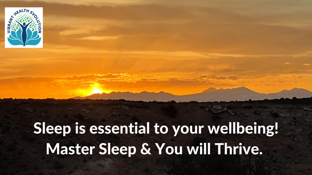 Sleep is essential to your wellbeing